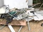 Ladrões explodem caixa de agência bancária próxima à base da PM