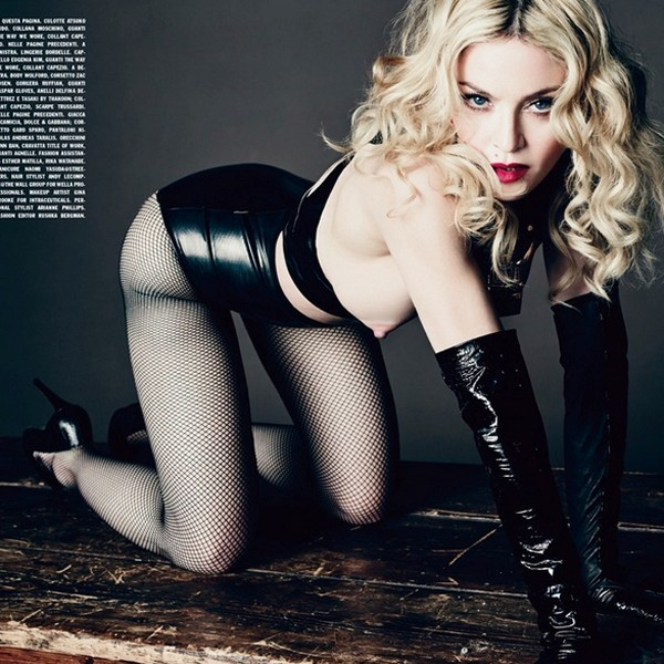 Madonna Mamilo Vogue (Foto: Divulgao)