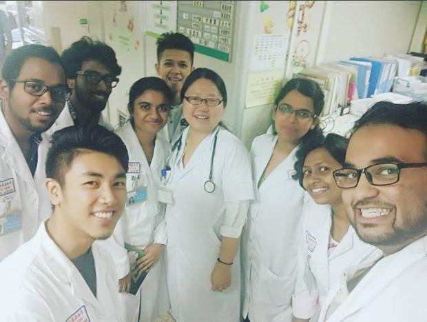 Mais médicos (Foto: Reprodução/Instagram @usama.elias)