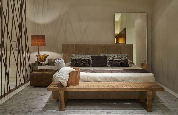 17 ambientes sopram novas ideias para o lar Casa Vogue  ~ Quarto Rustico Contemporaneo