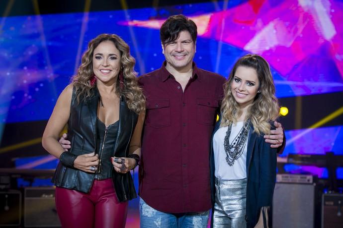 Daniela Mercury Paulo Ricardo Sandy jurados palco Top 8 (Foto: Isabella Pinheiro/Gshow)