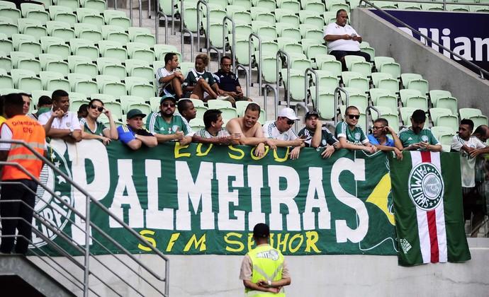 Arena Palmeiras torcida Palmeiras (Foto: Marcos Ribolli)
