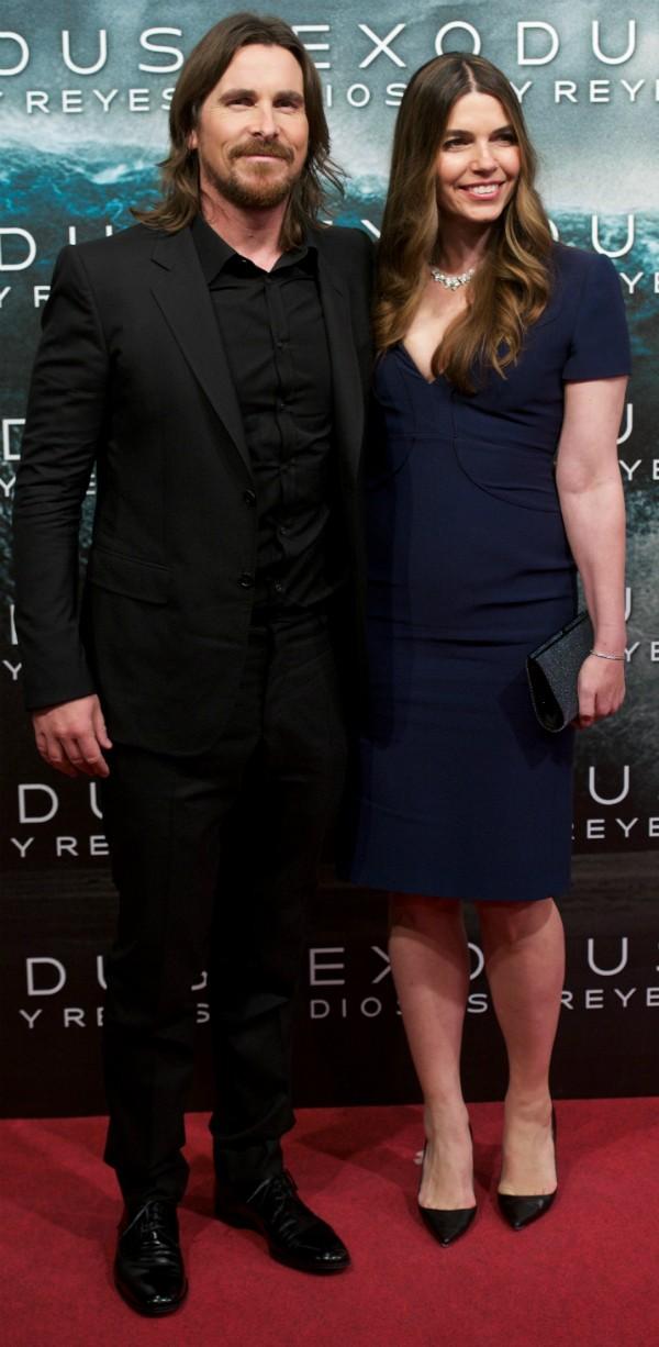 Christian Bale e sua esposa, Sandra Blažić (Foto: Getty Images)