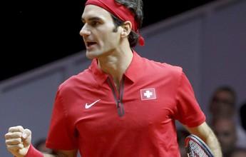 """Federer não teme zika no Rio: """"Vou passar repelente e tomar precauções"""""""