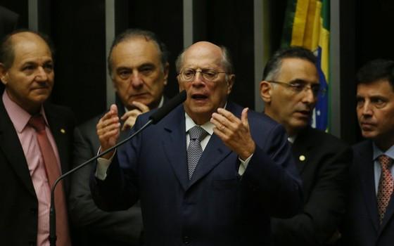 O jurista Miguel Reale Júnior, um dos autores do pedido de impeachment, defende o afastamento de Dilma (Foto: Aílton de Freitas / Ag. O Globo)