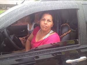 Agricultora Kelma Ribeiro, de 37 anos, Balsas, Macapá, Amapá (Foto: Jorge Abreu/G1)