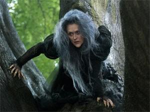 Meryl Streep em cena de 'Caminhos da floresta' (Foto: Divulgação)