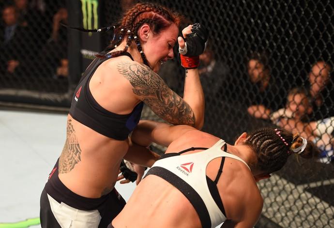 Joanne Calderwood Cortney Casey UFC Glasgow (Foto: Getty Images)