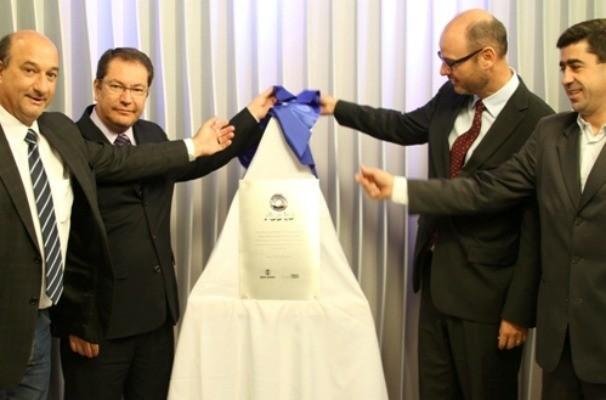 Inauguração sinal digital (Foto: Elieser Noble/RBS TV)