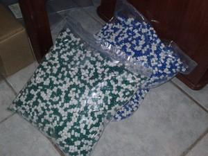 Suposta fosfoetanolamina produzida em Conchal (Foto: Polícia Civil/Divulgação)