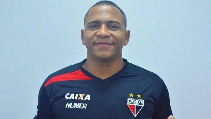 Walter - atacante do Atlético-GO (Foto: Divulgação / Atlético-GO)
