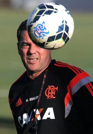 Luxemburgo treino Flamengo (Foto: Gilvan de Souza / Flamengo)