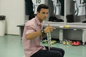 Júnior Rocha, treinador do Luverdense (Foto: Assessoria/Luverdense Esporte Clube)