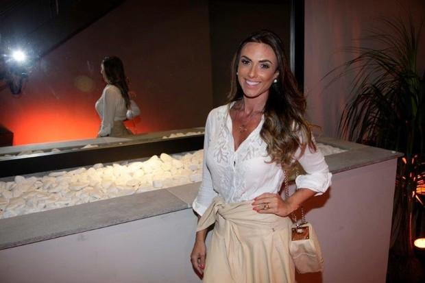 Nicole Bahls em festa da Lacoste (Foto: Vera Donato/ divulgação)