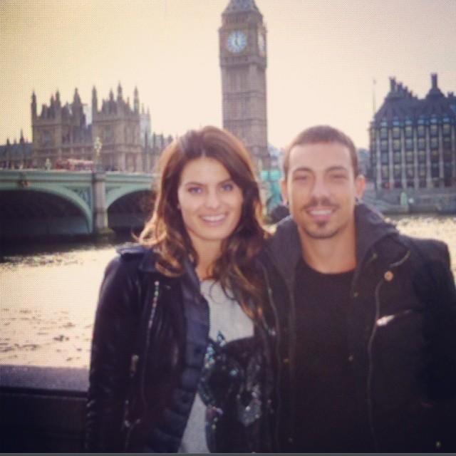 Isabelli Fontana e Di Ferrero (Foto: Reprodução/Instagram)