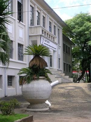 Escola Técnica Etec Rubens de Farias, em Sorocaba (Foto: Claudia/TEM Você)