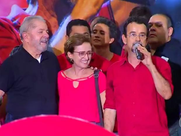 Fernando Mineiro é o candidato do PT à Prefeitura de Natal (Foto: Reprodução/Inter TV Cabugi)