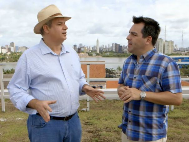 Expedições Urbanas mostra lei que exige telhados verdes em prédios, no Recife (Foto: Globo)