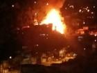 Incêndio destrói quatro casas em Caxias do Sul, na Serra do RS