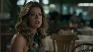 Maria Pia descobre que Timóteo é pai de Malagueta