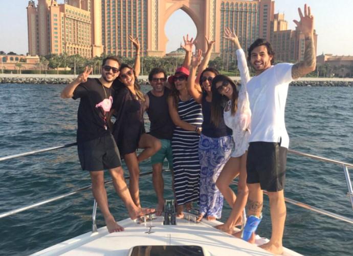Éverton Ribeiro Ricardo Goulart Dubai (Foto: Reprodução / Instagram)