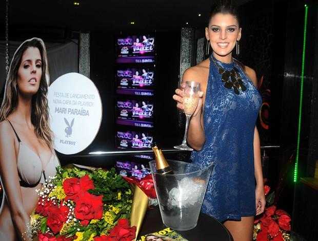 festa Playboy mari paraíba lançamento revista (Foto: André Durão / Globoesporte.com)