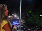 Saia justa que nada! Nicole Bahls encontra ex Léo Santana em Salvador