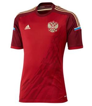 f93adb7654 Camisa da Rússia é eleita a mais bela em enquete do Esporte ...