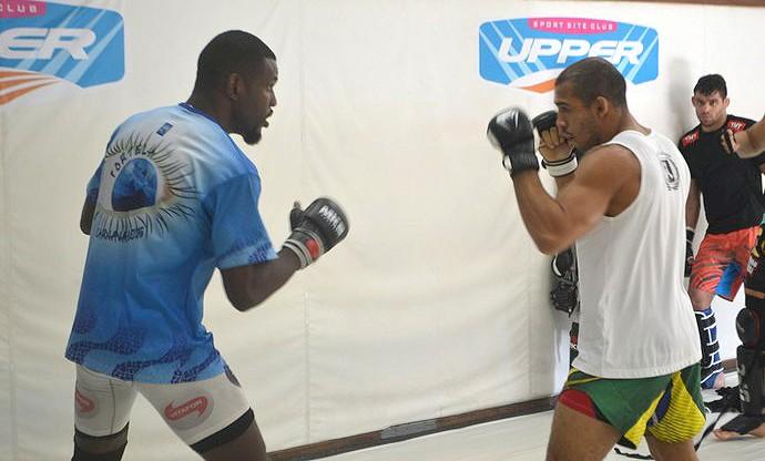 José Aldo, treino MMA (Foto: Raphael Marinho)