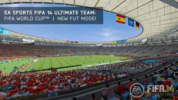 Estádio do Maracanã é novidade no 'Fifa 14' do Xbox One e do PS4 (Foto: Divulgação/Electronic Arts)