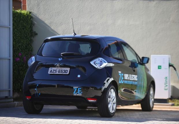 Modelo de carro elétrico da Renault (Foto: Divulgação)