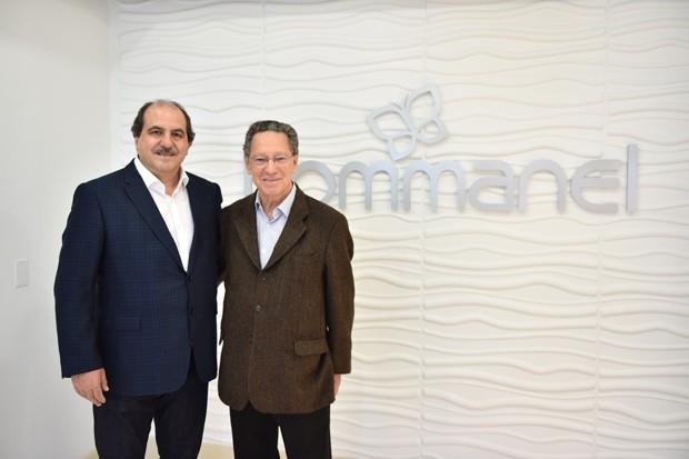 84d2d5bb4725d Antônio Carlos Martins e Antônio Carlos Manchon, sócios-fundadores da  Rommanel (Foto