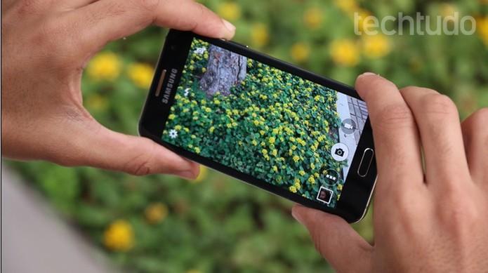 Samsung Galaxy A3 (Foto: Lucas Mendes/TechTudo)