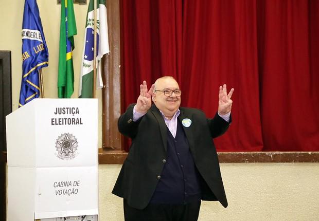 Rafael Greca, candidato à prefeitura de Curitiba (Foto: Reprodução/Facebook/Rafael Greca)