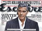 George Clooney elogia Brad Pitt e alfineta DiCaprio em entrevista