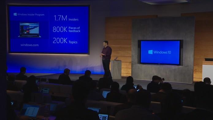 Windows 10, Terry Myerson (Foto: Reprodução)