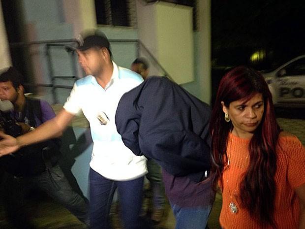 Terceiro suspeito de matar torcedor com privada é preso no Recife (Foto: Débora Soares / G1)
