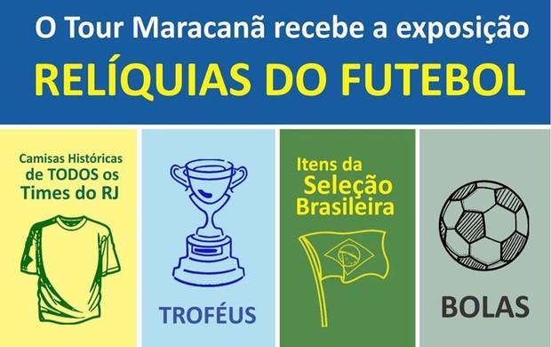 """BLOG: Maracanã recebe exposição """"Relíquias do futebol"""" neste sábado"""
