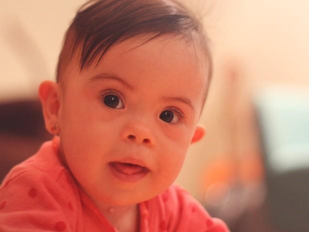 Aos nove meses, Alice tem sua vida registrada em um blog  (Foto: Arquivo Pessoal/Divulgação)