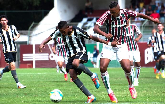 Fluminense X Botafogo- Final Carioca Sub-15 (Foto: Bruno Haddad / Fluminense)