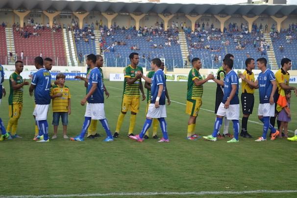 O Jogo elegeu o bicampeonato do Confiança (Foto: globoesporte.com/se)