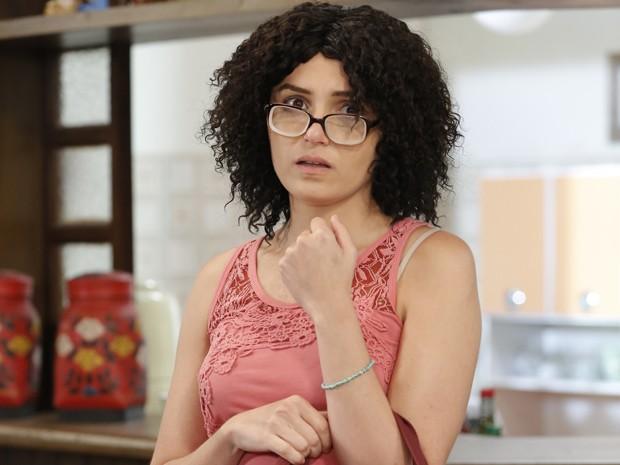 Na trama, Scarlett passará por transformação radical para ficar irreconhecível (Foto: Felipe Monteiro/Gshow)
