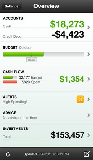 Aplicativo Mint ajuda a administrar finanças (Foto: Reprodução)