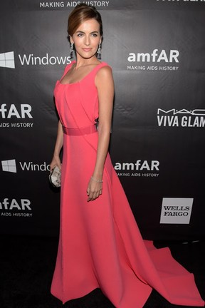 Camilla Belle em evento em Los Angeles, nos Estados Unidos (Foto: Jason Kempin/ Getty Images/ AFP)