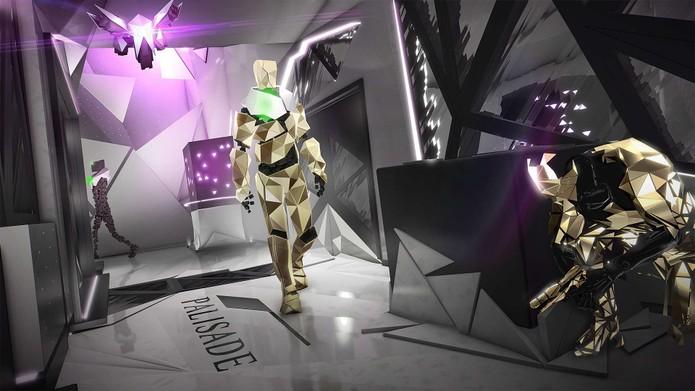 Modo Breach de Deus Ex: Mankind Divided (Foto: Divulgação/PC PowerPlay)