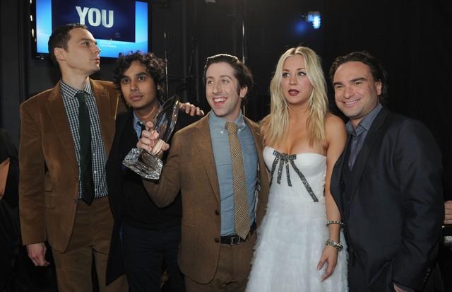 """Turminha milionária: protagonistas de """"The Big Bang Theory"""" dominam o topo das listas dos atores mais bem pagos da TV (Foto: Getty Images)"""