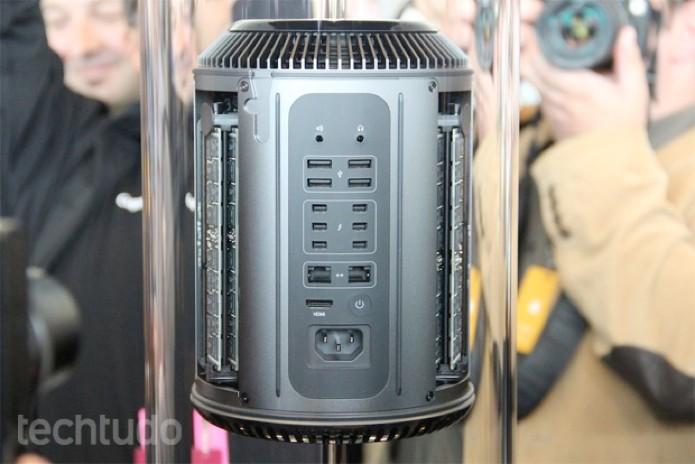 Mac Pro começará a ser vendido nos Estados Unidos no dia 19 de dezembro (Foto: Fabrício Vitorino/TechTudo)