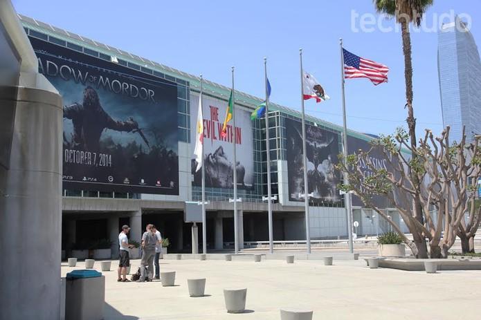 Los Angeles Convention Center, palco da E3 2014 (Foto: Isadora Dias / TechTudo)