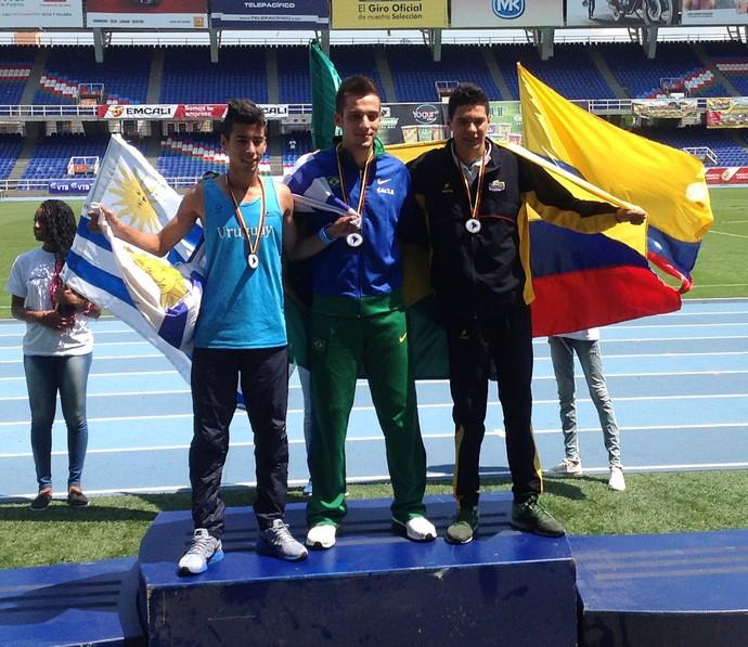 Bruno levou o ouro no Sul-Americano em Cali, na Colômbia (Foto: Dino Cintra / Cedida)