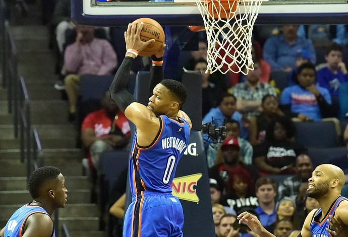 Russell Westbrook, rebote, NBA (Foto: Getty Images)